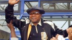 Le chanteur congolais Papa Wemba est