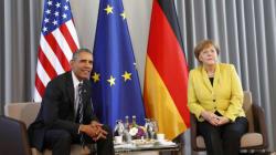 Obama en Allemagne pour défendre l'accord de libre échange auprès de