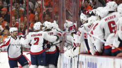Les Capitals éliminent les Flyers