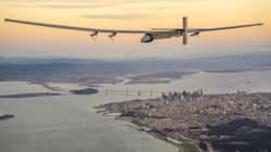 Plane Flies Across The Pacific Using Only Solar