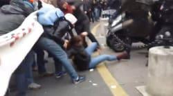 Débordements et gaz lacrymogènes devant le théâtre de
