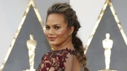 Chrissy Teigen Got Shamed For Eating Out, Because She's A