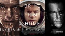 Toutes les affiches de films avec Matt Damon ont un point