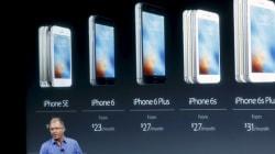 Apple: les ventes trimestrielles d'iPhone ont reculé pour la première