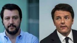 Salvini attacca Renzi: