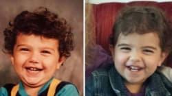 Queste 40 foto affiancate di genitori e figli vi faranno credere di vedere