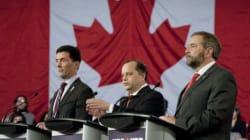 Testy Exchange During NDP Leadership