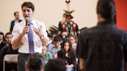 Student Puts PM On Spot For 'Third World' Indigenous Living