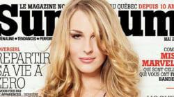 Une première femme transgenre en Une du magazine