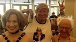 Ce masque de Donald Trump va vraiment vous faire