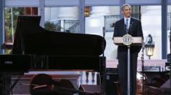 Obama accueille une soirée jazz à la «Blues House»