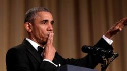 Obama fait rire le tout-Washington (et n'épargne pas