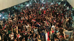 Hundreds Of Protesters Storm Iraq's