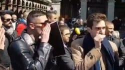 Bousculé au rassemblement de Jean-Marie Le Pen, Cyrille Eldin du