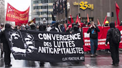 Montreal's May Day Protest Turns