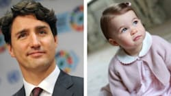 Prime Minister Sends Princess Charlotte Very Canadian 1st Birthday
