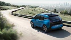 Plus d'autonomie pour la BMW i3 2017
