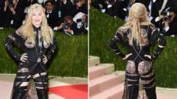 Madonna fait taire ceux qui critiquaient sa tenue au Met