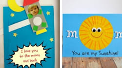 12 DIY Mother's Day Cards Kids Can Fill With
