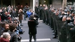 Incidents à Paris avant l'évacuation d'un lycée occupé par des