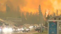 100.000 Canadiens évacués à cause d'un énorme