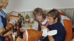 Voici à quoi ressemblaient les repas en avion dans les années 60