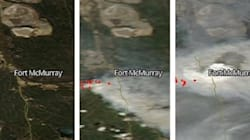NASA Satellite Images Show How Fast Fort McMurray Fire