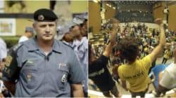 Coronel Telhada contra estudante na Alesp: 'Vou mandar te