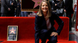 Jodie Foster inaugure son étoile sur Hollywood