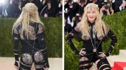 Madonna dénonce le sexisme des critiques sur sa robe au Met