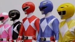 Les Power Rangers ne ressemblent plus à
