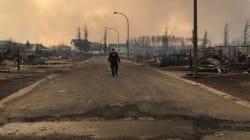 Cette photo montre l'ampleur du désastre à Fort