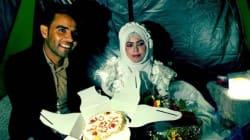 Deux Syriens se sont dit «oui» dans un camp de