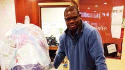 Este homem lavou e secou mais de 2 toneladas de roupas de