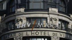 Le BHV sera le 1er grand magasin parisien à ouvrir le
