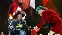 AC/DC avec Axl Rose en chanteur, ça donne