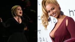 Adele interrompe un concerto per parlare di Beyoncè e quello che dice la fa una vera