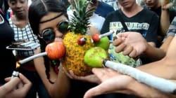 Voilà à quoi ressemble une manifestation en faveur du cannabis en
