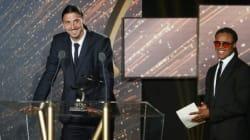 Zlatan Ibrahimovic sacré meilleur joueur de Ligue 1 aux Trophées
