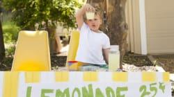 Ces enfants ont vendu de la limonade (et récolté de gros sous!) pour Fort