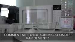 La technique toute simple pour nettoyer un micro-ondes en moins de 5