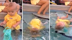 Mom Doesn't Understand Controversy Over Her Baby Swimming
