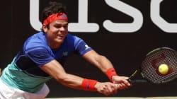 Milos Raonic atteint le deuxième tour du Masters de