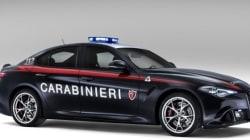 アルファロメオ「ジュリア クアドリフォリオ」をイタリア国家治安警察隊が導入