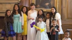 La sposa cancella il matrimonio, ma non il ricevimento. E l'invito va ai bambini