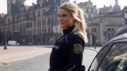 Des milliers d'internautes rêvent que cette policière les