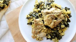 A One-Pan Lemon Rice And Chicken Recipe Made For Busy