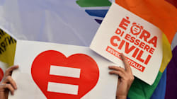 Feu vert en Italie pour un mariage gay ultra