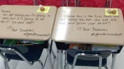 Il gesto di una maestra ha dato ai suoi alunni la giusta dose di coraggio per affrontare gli