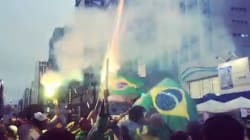 Les Brésiliens fêtent la mise à l'écart de Dilma